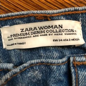 Zara Cargo Jeans